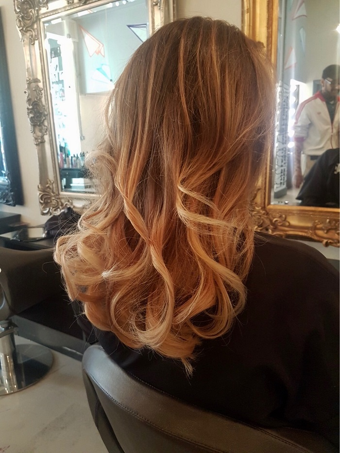 Balayage Putney And A Curly Dry By Will At Live True London