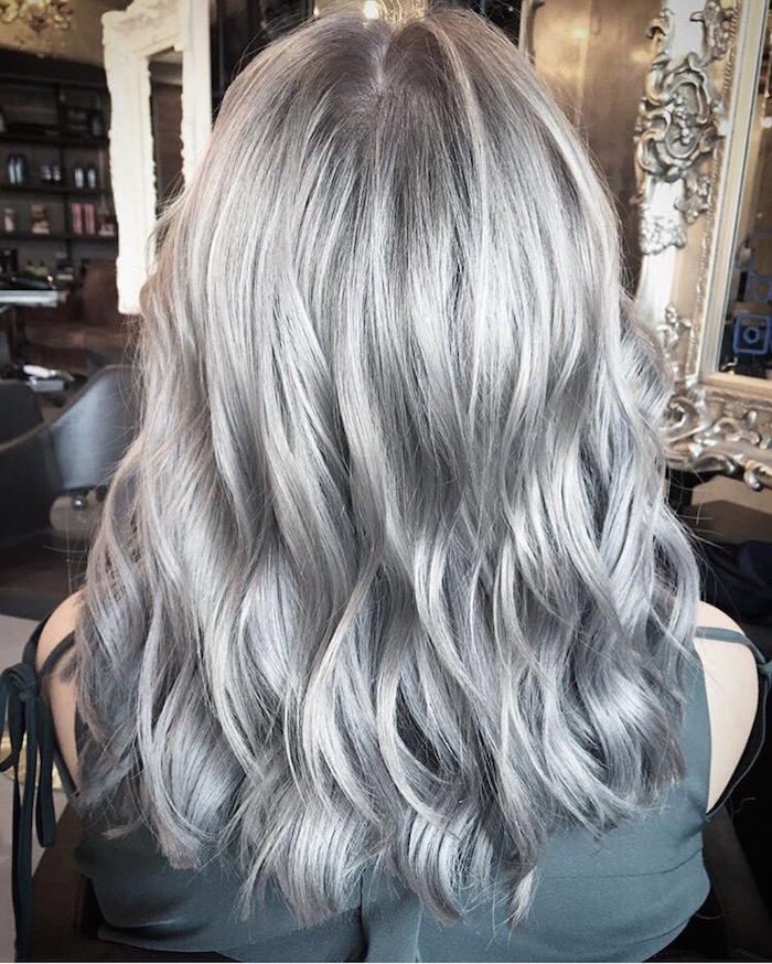 London Hairdressers Silver Hair Colour Trend Live True London